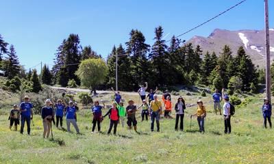 Χελμός: Η πεζοπορία του «Ευκλή» στις βουνοπλαγιές των Καλαβρύτων