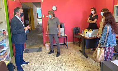 Στήριξη Μαντά σε ειδικά σχολεία Καλαμάτας για νέες κτιριακές εγκαταστάσεις
