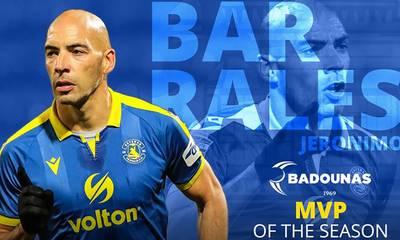 Αστέρας Τρίπολης: Ο Barrales BADOUNAS MVP της χρονιάς