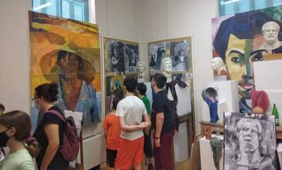 Καλαμάτα: Ολοκληρώθηκε η έκθεση παιδικής ζωγραφικής του Εικαστικού εργαστηρίου