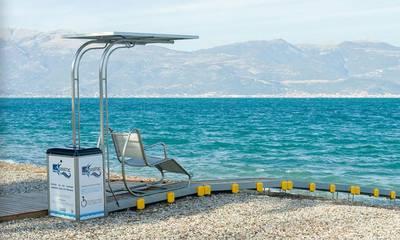 Seatrac: Εύκολη πρόσβαση για όλους στην παραλία Καλαμάτας