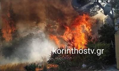 Ξανα-καίγεται η Κορινθία!