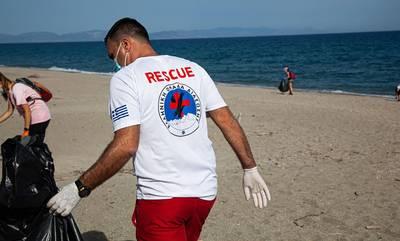 «Λαμπίκο» έκαναν οι εθελοντές την παραλία Μαυροβουνίου, στο Γύθειο