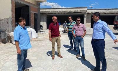 Προχωρούν οι εργασίες στο υπό κατασκευή Δημοτικό Σχολείο Πεταλιδίου