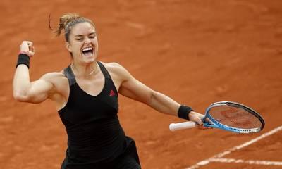 Roland Garros: Έγραψε ιστορία η Σάκκαρη! Προκρίθηκε στους 16 (videos)