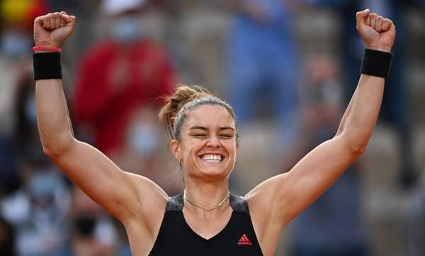 Μαρία Σάκκαρη: Προκρίθηκε στα προημιτελικά του Roland Garros (highlights)