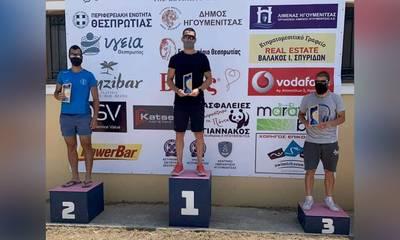 Ποδηλατικός Όμιλος Καλαμάτας: Χρυσό μετάλλιο για τον Στάθη Χριστοφιλόπουλο