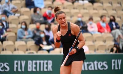 Στους «4» του Roland Garros η Μαρία Σάκκαρη