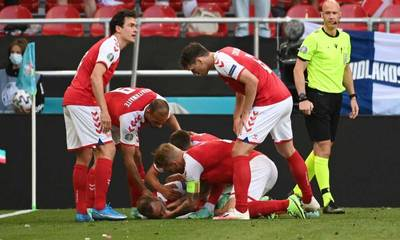 Euro 2020: «Κατέρρευσε» στο γήπεδο ο Έρικσεν (photos - video)