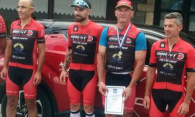 Αργυρό μετάλλιο ο Κωνσταντόπουλος του Ποδηλατικού Ο.Κ.
