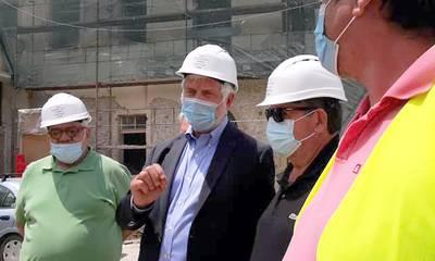 O Tατούλης στο έργο εκσυχρονισμού του Αρχαιολογικού Μουσείου Άργους (photos/video)