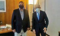 Συνάντηση των Πτυχιούχων Γεωπόνων Τ.Ε. της Π.Ε.Π.Τ.Ε.Γ. με τον Πρόεδρο του ΕΛΓΑ  Ανδρέα Λυκουρέντζο