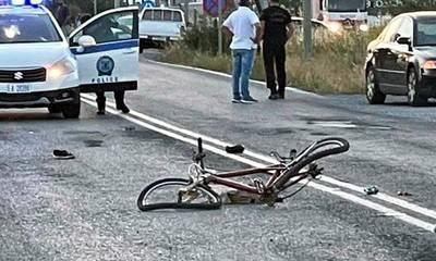Νεκρός ποδηλάτης στην άσφαλτο μετά από σύγκρουση με Mercedes