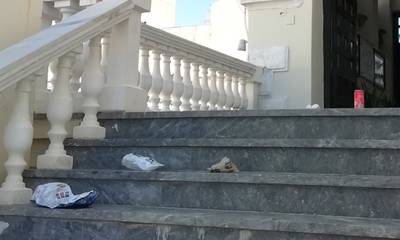 Έφριξε δημότης βλέποντας τα χάλια στο Δημαρχείο Σπάρτης!
