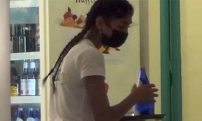 GNTM: Η πατρινή Παρασκευή Κερασιώτη εργάζεται ως σερβιτόρα στη Μύκονο (video)