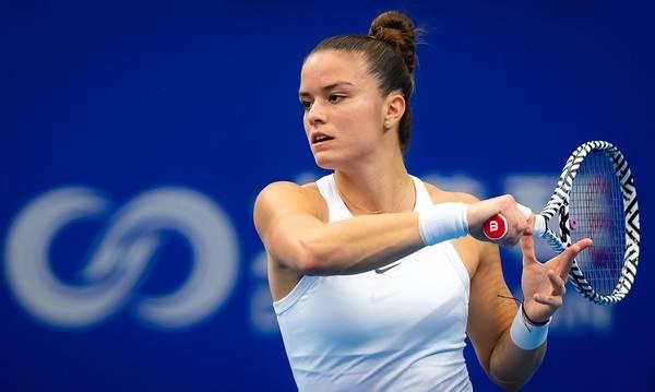 Η Σάκκαρη προετοιμάζεται για το Wimbledon στη Μεσσηνία (video)