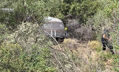 Αργολίδα: Αγωνιστικό αυτοκίνητο έπεσε σε γκρεμό στην παλαιά εθνική οδό Άργους -Τριπόλεως (photos)