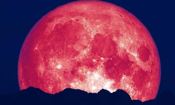 «Το φεγγάρι της φράουλας» - Αύριο η τελευταία υπερπανσέληνος του χρόνου