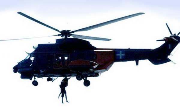 Με ελικόπτερο της Π.Α. η επιχείρηση διάσωσης 45χρονου ναύτη ανοικτά της Πύλου που κατέληξε