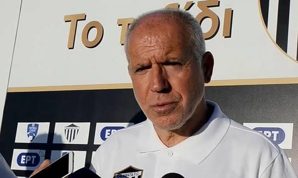 Αναστόπουλος: «Τα αποτελέσματα μιλάνε μόνα τους και λένε ότι έχω επτά ανόδους, με τρία πρωταθλήματα»