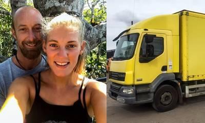 Αγόρασαν παλιό φορτηγό με 4.000€ και το μεταμόρφωσαν σε κινητό σπίτι (photos)