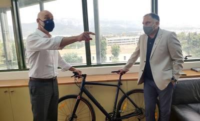 Συνάντηση με τον υφυπουργό Περιβάλλοντος και Ενέργειας Γιώργο Αμυρά