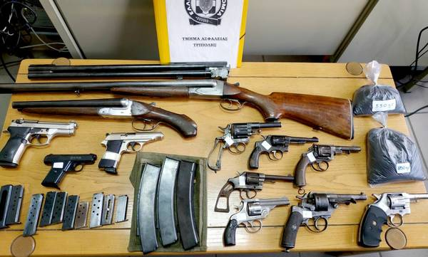 Τρίπολη: Τον έπιασαν με «μίνι» οπλοστάσιο