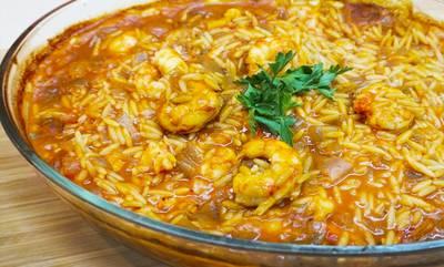 Γιουβέτσι με γαρίδες, ούζο και σέλερι