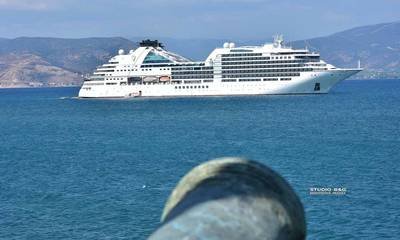 Κρουαζερόπλοια στο Ναύπλιο, κλέβουν τις ματιές!