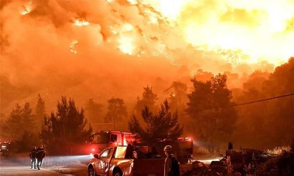 Η ακραία δασική πυρκαγιά του Σχίνου Κορινθίας το σημαντικότερο συμβάν της πρόσφατης δεκαετίας