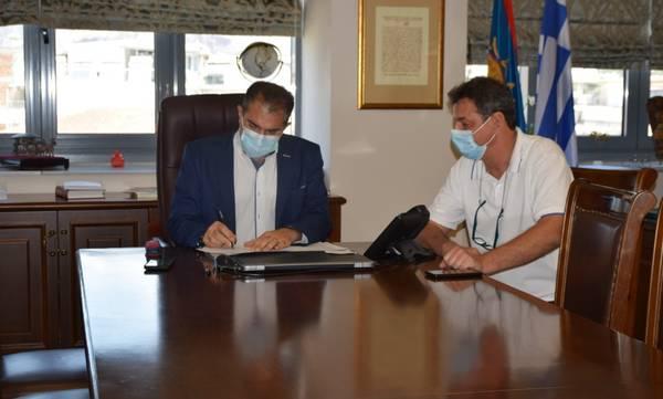 Καλαμάτα: Υπεγράφη η σύμβαση για το έργο «Επισκευή και συντήρηση σχολικών κτηρίων»
