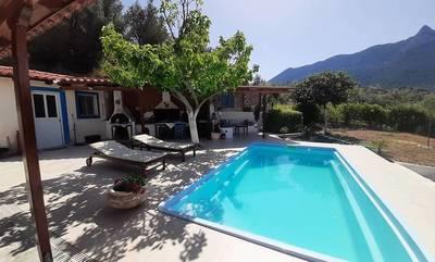 Πωλείται μονοκατοικία 140τμ με πισίνα στην Περαχώρα Λουτρακίου