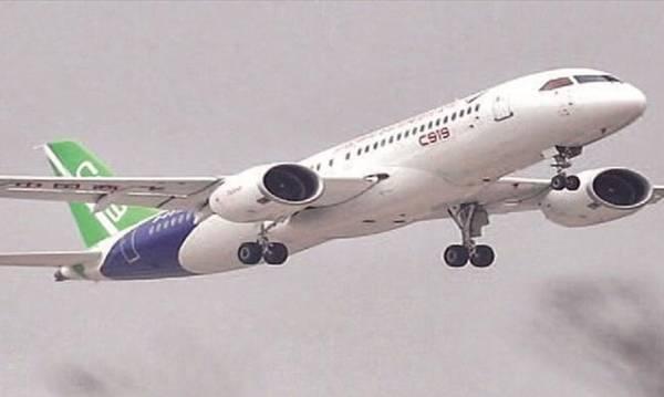 Πρόκληση σε Boeing και Airbus το κινεζικό επιβατηγό αεροσκάφος C919