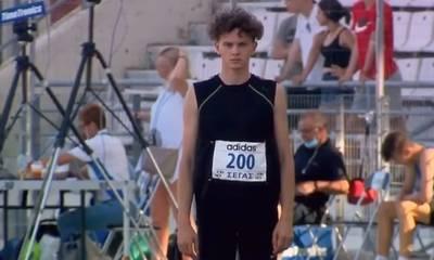 Αργυρός πανελληνιονίκης ο Αλέξανδρος Μπεσσόννυ του Φιλαθλητικού Γ.Σ. Σπάρτης (video)