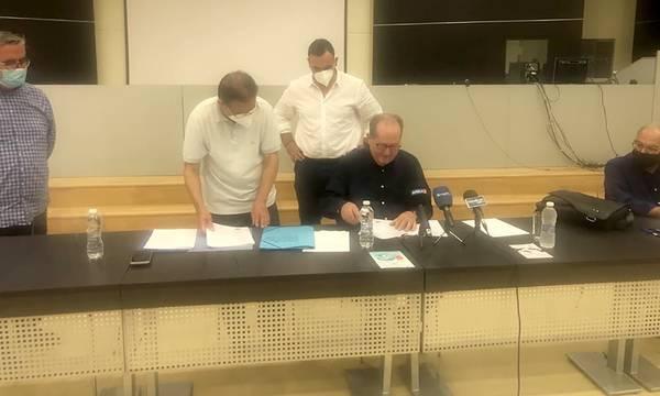 Λακωνία: Συμβάσεις ύψους 1,4 εκ. € υπέγραψε στη Σπάρτη ο Παναγιώτης Νίκας