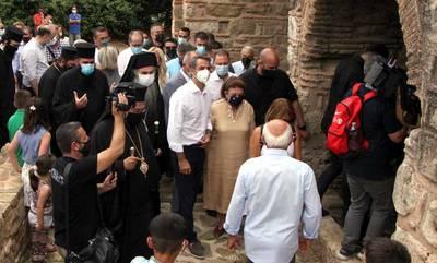 Ο πρωθυπουργός στο μνημείο του Ιερού Ναού Μεταμορφώσεως του Σωτήρος στην Χριστιανούπολη!