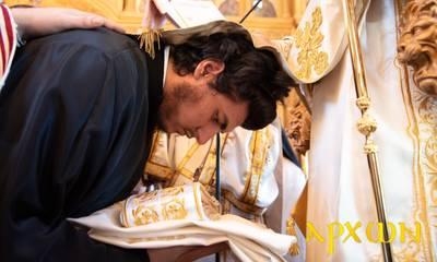 Άξιος, Ευστάθιος, Μοναχός και Σπαρτιάτης ο νέος διάκος στην Μητρόπολη Γλυφάδας (photos)