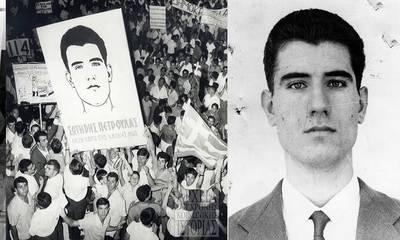 Σαν σήμερα έχασε τη ζωή του σε διαδήλωση ο αγωνιστής της Αριστεράς Σωτήρης Πέτρουλας