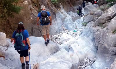 Ευκλής Καλαμάτας: Περπάτησε το φαράγγι Τέπενης στη Μάνη