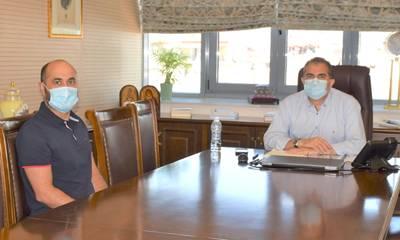 Τον Δήμαρχο Καλαμάτας επισκέφτηκε ο Dr Ιωάννης Βεργινάδης