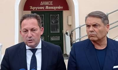 Ο Πέτσας στην Πελοπόννησος για το τείχος ανοσίας! – Συνεργασία με ΠΕΔ / Καμπόσο