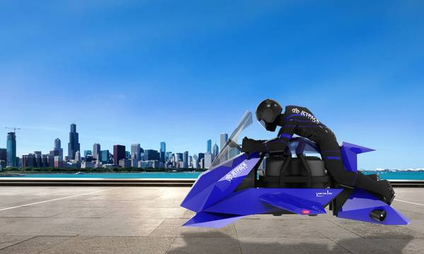 Speeder: Η πρώτη ιπτάμενη μοτοσυκλέτα είναι εδώ