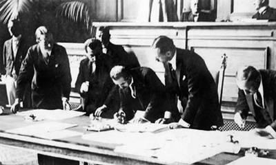 Σαν σήμερα το 1923 υπογράφεται η Συνθήκη της Λωζάνης