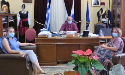 Συνεργασία Ανδρεάκου – Αγγελάκου για την καλύτερη λειτουργία του Κ.Υ. Γυθείου