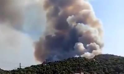 Συναγερμός στην Πυροσβεστική: Φωτιές σε Επίδαυρο και Κόρινθο (video)