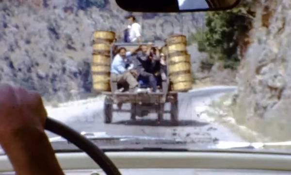 Μοναδικό! Πριν από 55 χρόνια διασχίζοντας τον Ταΰγετο προς Καλαμάτα! (video)