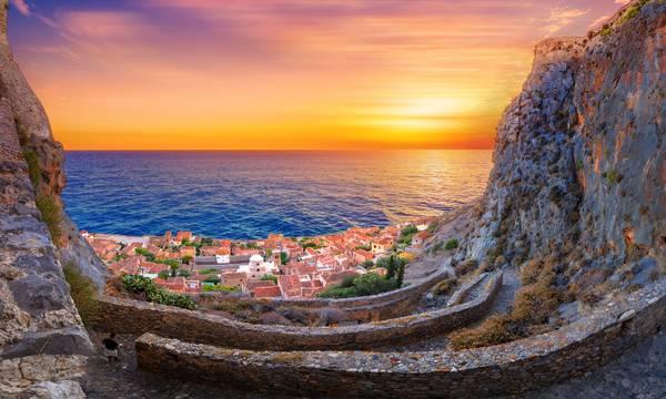 European Best Destinations: Η Μονεμβασιά στους καλύτερους μυστικούς προορισμούς για το 2021
