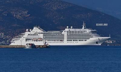 Το κρουαζερόπλοιο «Silver Moon» στο λιμάνι Ναυπλίου (photos)
