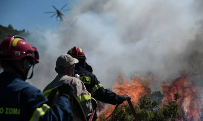 Πολιτική Προστασία: Πολύ υψηλός κίνδυνος πυρκαγιάς σήμερα στην Πελοπόννησο