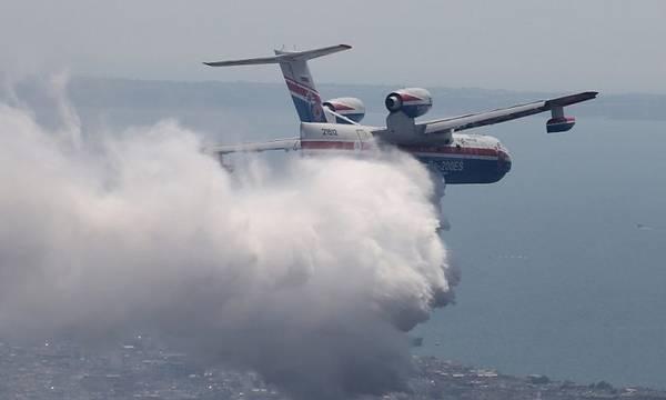 Φωτιά σε εξέλιξη στη Δροσιά Αχαΐας - Εκκενώνεται προληπτικά ο οικισμός